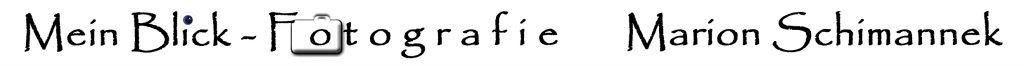 Logo Mein Blick - Fotografie Marion Schimannek