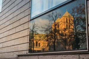 Münsters Dom im Spiegel