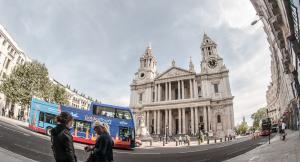 bei St. Pauls Cathedral geht`s rund